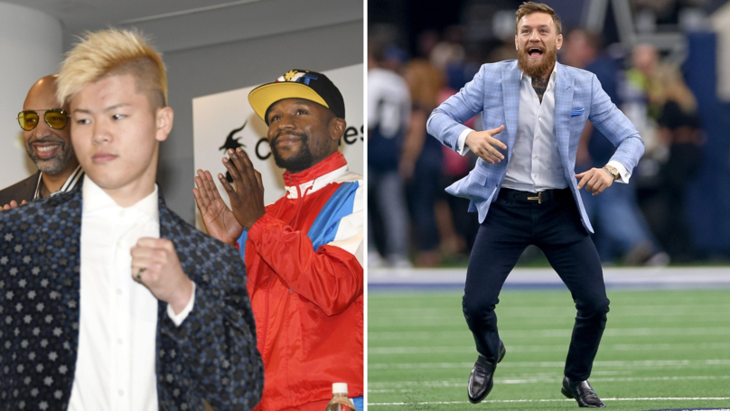 McGregor's Coach Tweets Brilliant Response After Mayweather Reveals Nasukawa Fight Is Happening