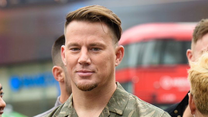 Channing Tatum Strips Off After Losing At Jenga To Girlfriend Jessie J