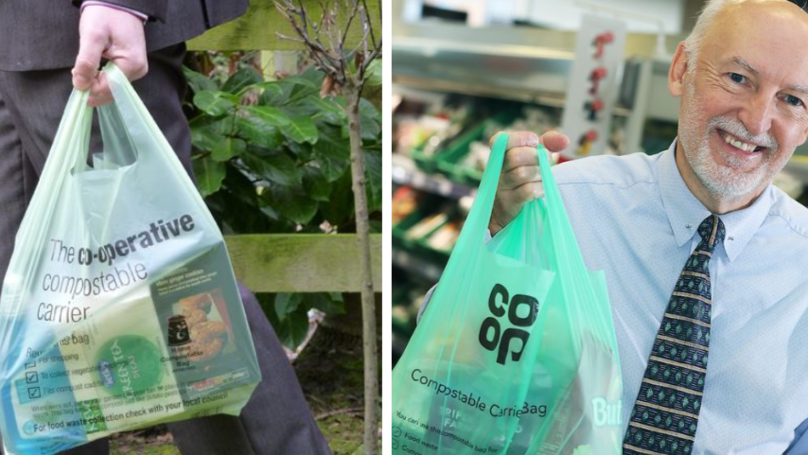 Co-op Is Rolling Out Compostable Carrier Bags And Scrapping Single-Use Plastic