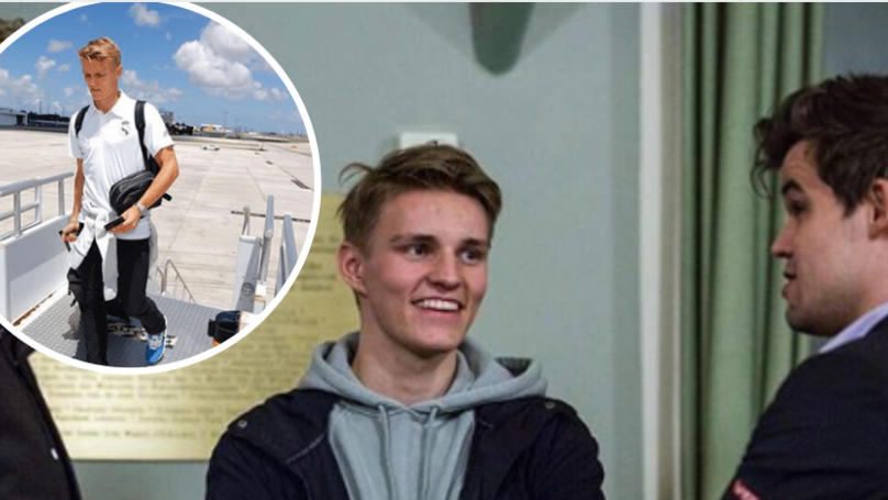 Martin Odegaard And His Agent Spotted In Airport Ahead Of Potential Transfer