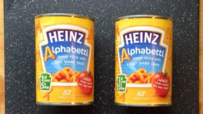 Man Spends 3.5 Hours Going Through Alphabetti Tins To Compare Contents