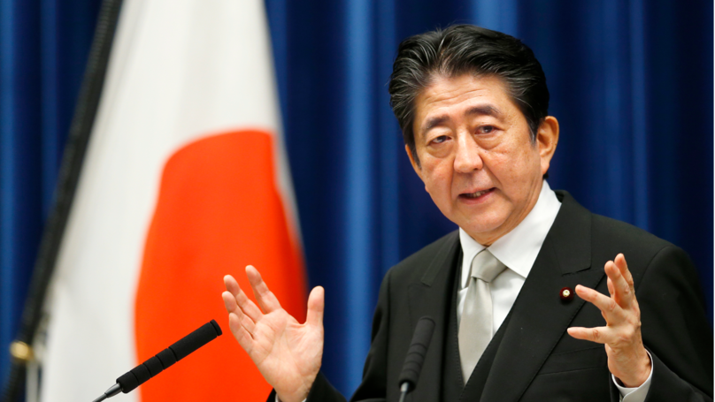 Japanese PM Calls For A World Free Of Nuclear Weapons