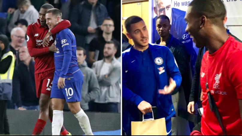 Eden Hazard's Superb Message To Daniel Sturridge In Stamford Bridge Tunnel