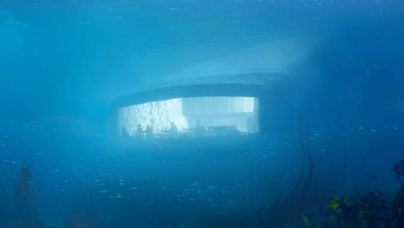 Welcome To Europe's First Underwater Restaurant - And It Looks Stunning