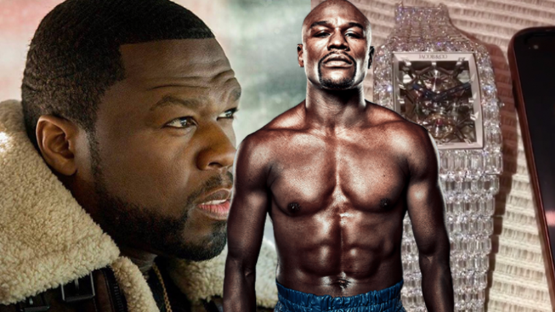 50 Cent Responds After Floyd Mayweather Lavishly Spends $18 Million On A Watch