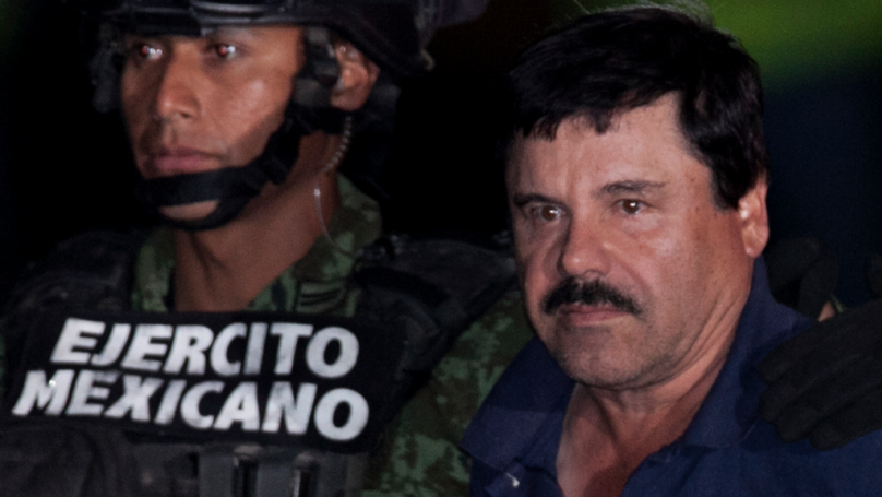 El Chapo's Escape Tunnel Exposed In Marine Bodycam Footage