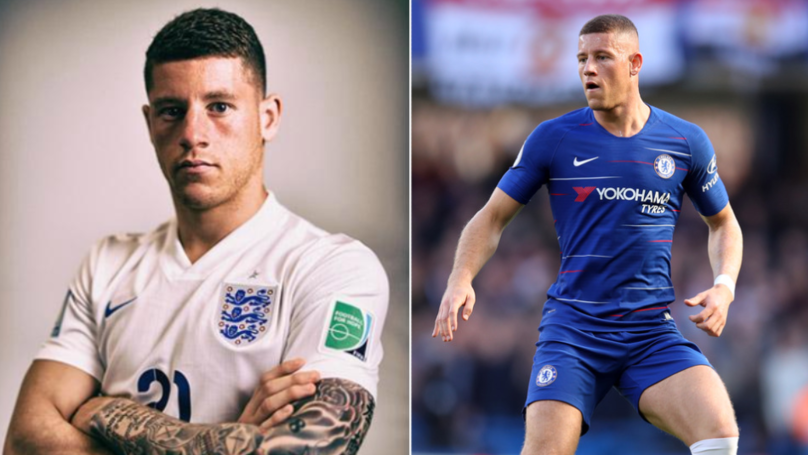 Ross Barkley's Arm Tattoos Have Completely Disappeared And He's Explained Why