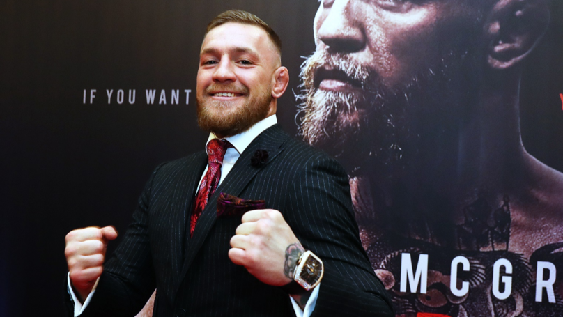 Conor McGregor Says 'Negotiations Are Underway For Mayweather UFC Fight'