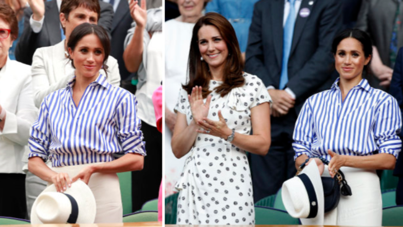 e13d68a894e Everyone s Confused Why Meghan Markle Didn t Wear Her Hat At Wimbledon