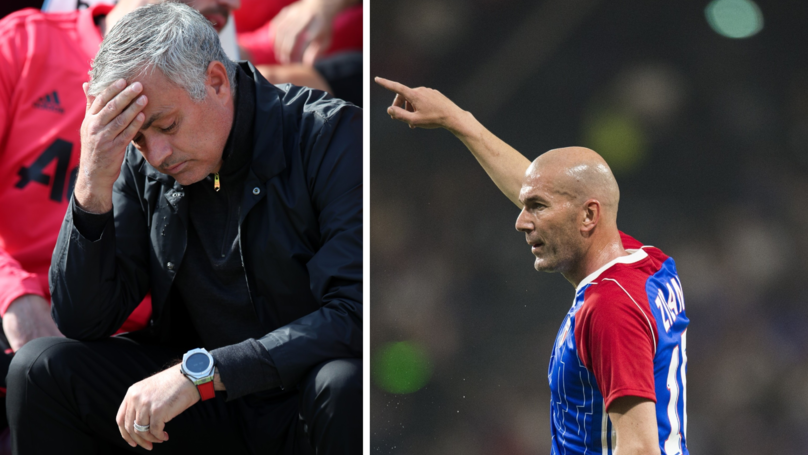 Manchester United Finally Respond To Speculation About Zidane To Replace Mourinho