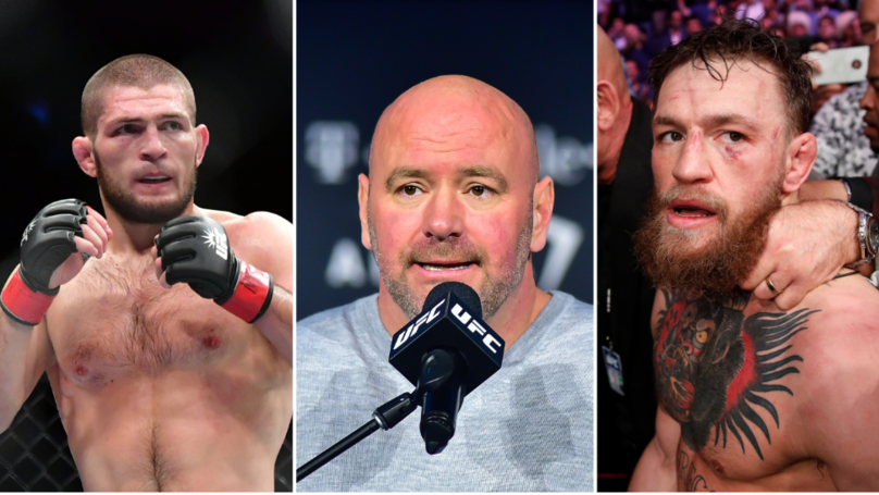 UFC President Dana White Issues Statement On Controversial Twitter War Between Khabib And McGregor