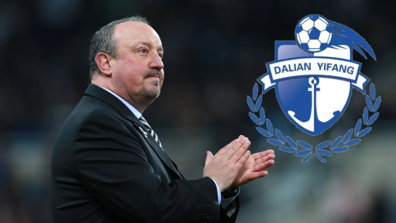 Rafa Benitez Offered £12 Million-A-Year By Chinese Club Dalian Yifang