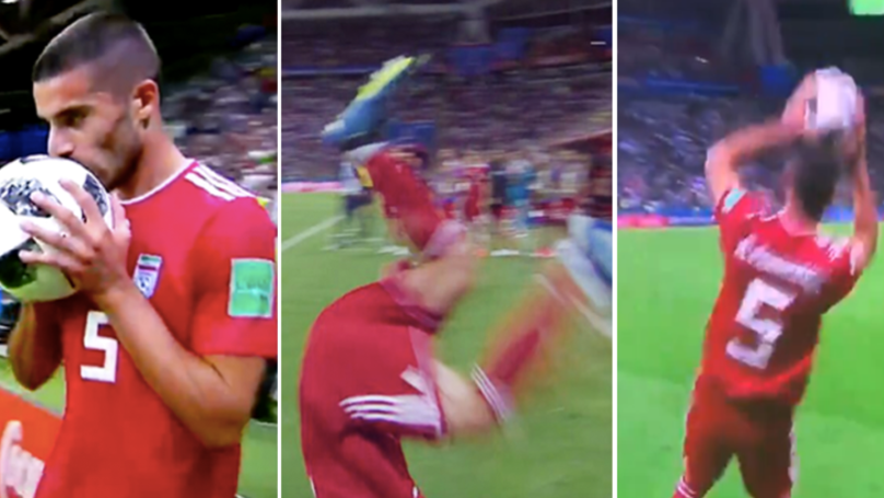 Iran's Failed Flip Throw In Is The Greatest World Cup Moment Ever