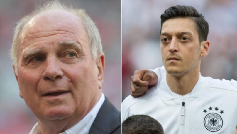 Bayern Munich President Delivers Brutal Assessment On Mesut Ozil's International Retirement