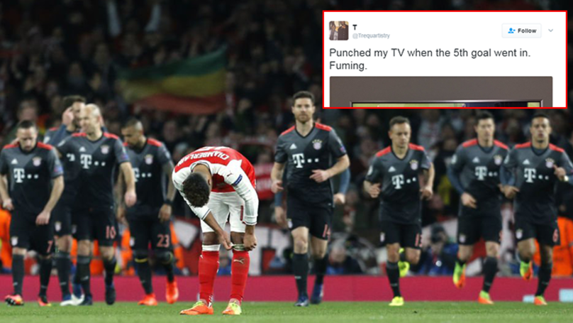 Arsenal Fan Went Viral Last Night After Losing His Shit On Twitter