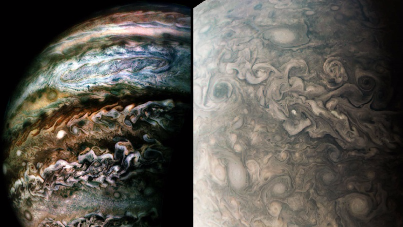 NASA's Juno Spacecraft Captures Incredible Images Of Jupiter