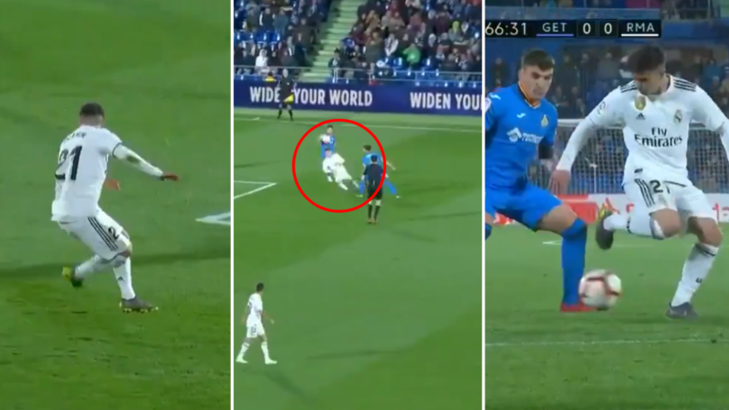 Real Madrid Starlet Brahim Diaz Produces Outrageous Touch And Filthy Nutmeg Against Getafe