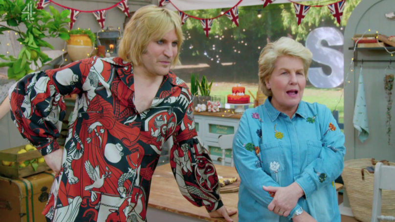 'Celebrity GBBO' Fans Compare Noel Fielding's New Do To Shirley From 'EastEnders'