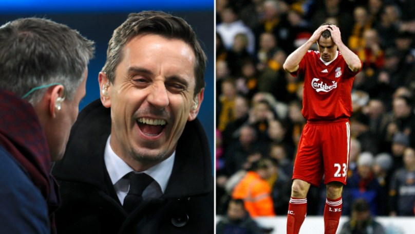 Gary Neville Hilariously Reacts To Jamie Carragher's Birthday