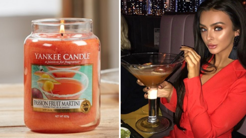 Yankee Candles Now Come In A Passion Fruit Martini Scent