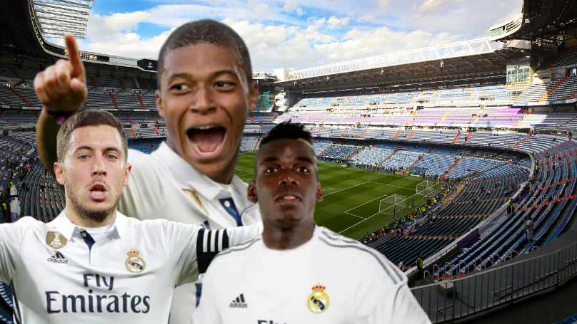 Real Madrid's Potential Line-Up For Next Season Would Dominate World Football