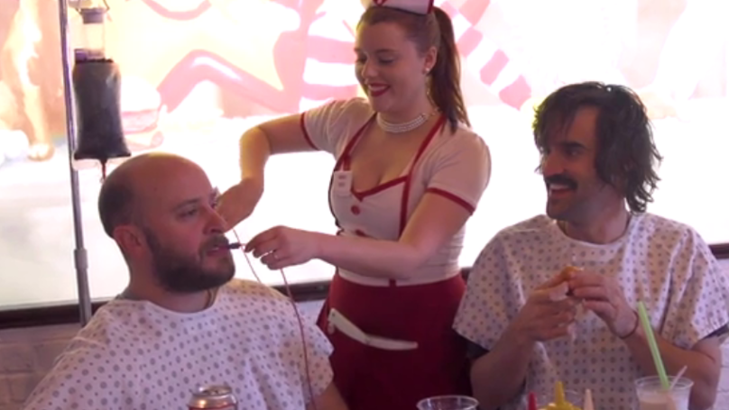 ​The Heart Attack Grill - The World's Most Intense Food Challenge?