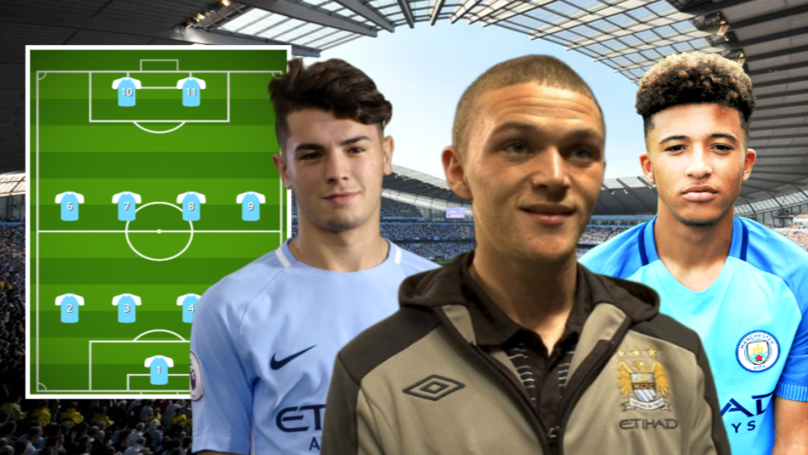 An XI Of Former Academy Prospects Produced By Manchester City