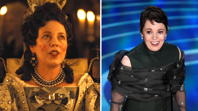 Olivia Colman - 'This Is Genuinely Quite Stressful' - Watch Her Emotional Oscars Acceptance Speech