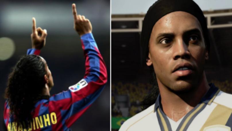 Ronaldinho's Prime ICON FIFA Card Is Just Beautiful