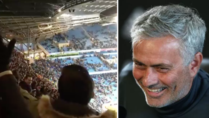 Man Utd Supporters Loved What Bristol City Fans Were Chanting Against Man City