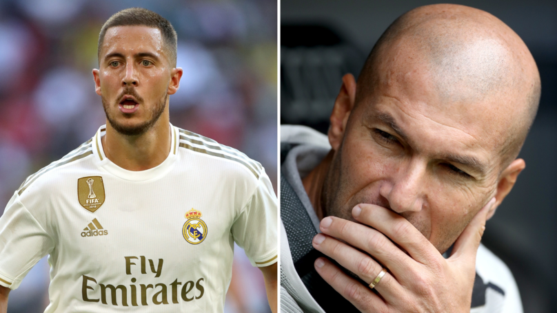 Eden Hazard Has Had The Worst Possible Start To Life At Real Madrid
