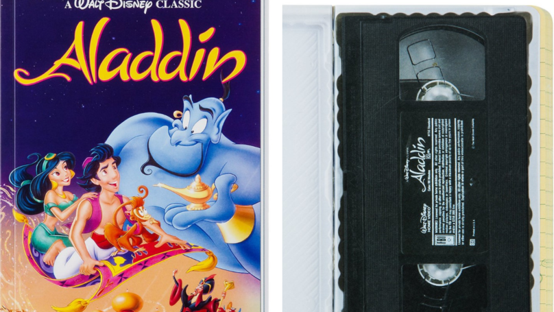 ​These New Disney Journals Look Just Like The Classic VHS Tapes