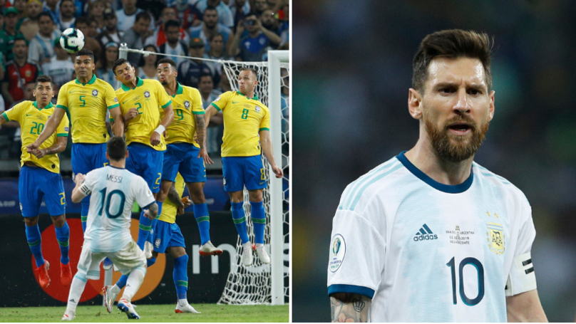 Lionel Messi Has Scored Just Four Goals In 20 International Knockout Fixtures