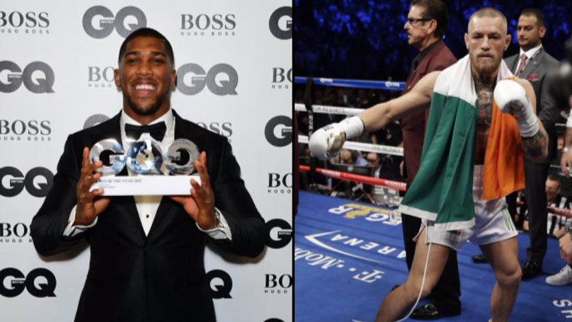 Anthony Joshua Jokingly Says He'd Knock Out Conor McGregor
