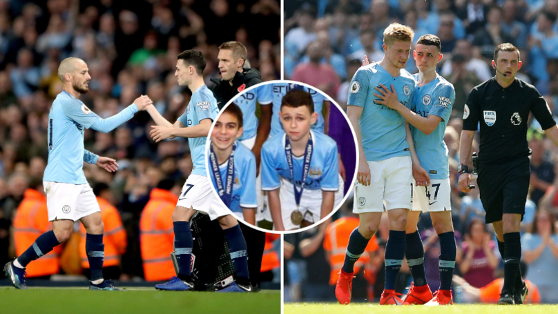 Phil Foden 'Still Feels Like A Fan' Playing With Kevin De Bruyne And David Silva