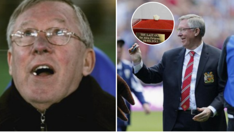 Sir Alex Ferguson's Final Chewing Gum Raised £390,000 For Charity