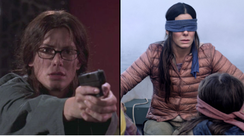 Millennials Are Calling Sandra Bullock 'That Lady From Bird Box'