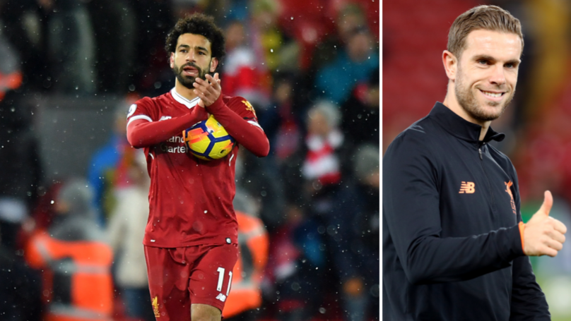 Jordan Henderson Reveals How He Signed Mo Salah's Match Ball