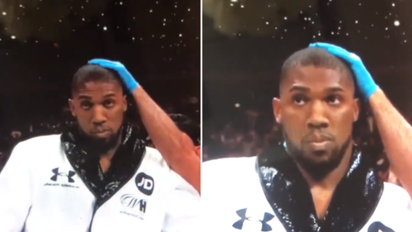 Anthony Joshua Looking Dazed In His Corner Before Ruiz Jr Defeat Suggests Something Wasn't Right