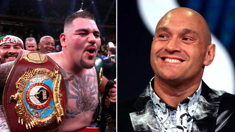 Tyson Fury Trolls Andy Ruiz Jr By Saying He'd Beat The Heavyweight Champion With Just One Hand