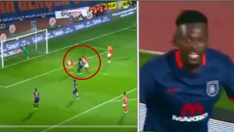 WATCH: Emmanuel Adebayor Scores His First Hat-Trick in Six Years vs Galatasaray