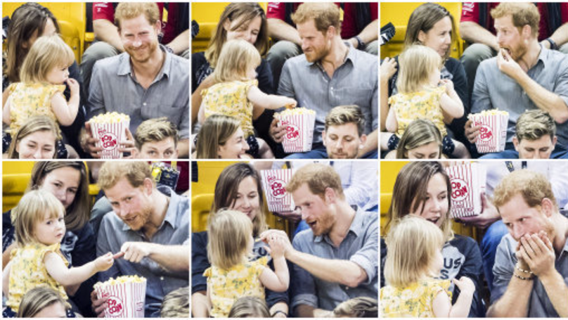 Toddler Who Went Viral For Stealing Prince Harry's Popcorn Has An Inspirational Backstory