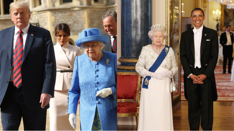 The Difference Between Trump And Obama's Meetings With The Queen