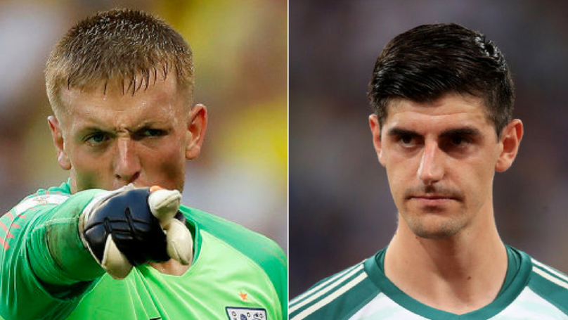 Jordan Pickford Reacts To Further Thibaut Courtois Comments