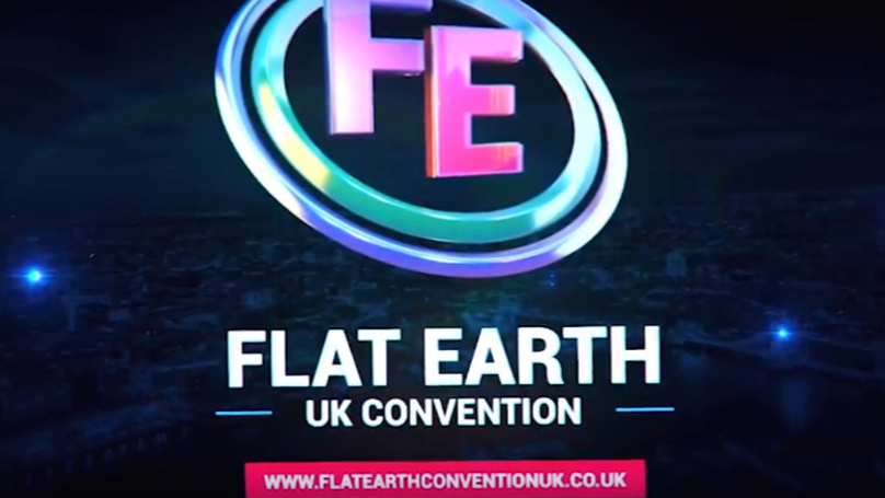 Man Says He's Disproven Gravity At UK's First Flat Earth Convention