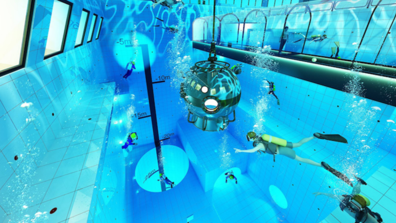 The Deepest Pool In The World is Set To Open In Poland This Autumn