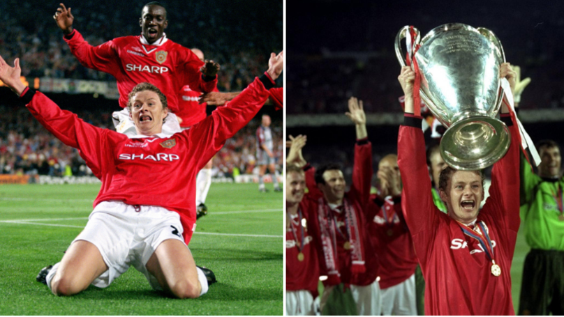 Ole Gunnar Solskjaer Injured Himself During 1999 Champions League Final Knee-Slide