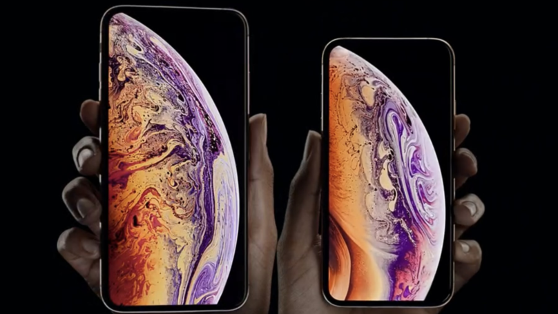 ​Apple Unveils New iPhone XS Models And Apple Watch 4