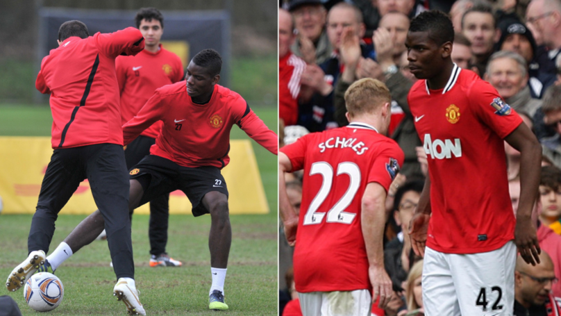 How Sir Alex Ferguson Toughened Up Paul Pogba When He Was Younger Is Brutal