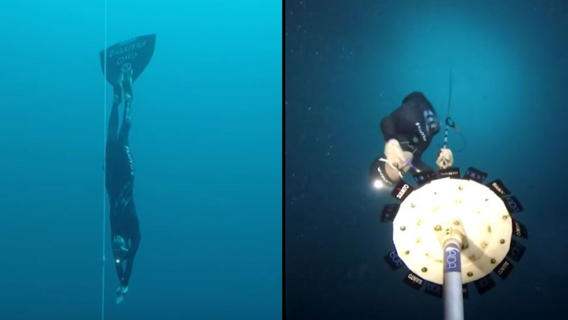 Freediver Breaks World Record By Reaching 350ft For Deepest Ever Dive